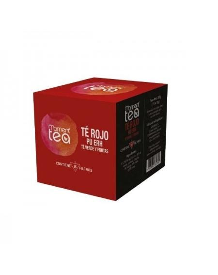 Moment Tea Té Rojo Pu Erh con Hibisco y Frutas