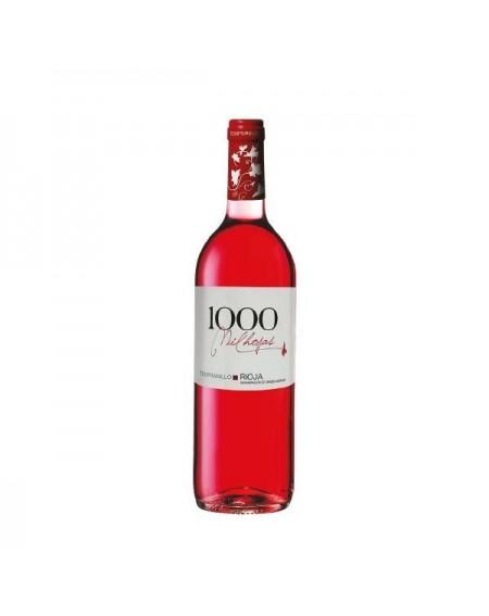 1000 Hojas Rosado Tempranillo.